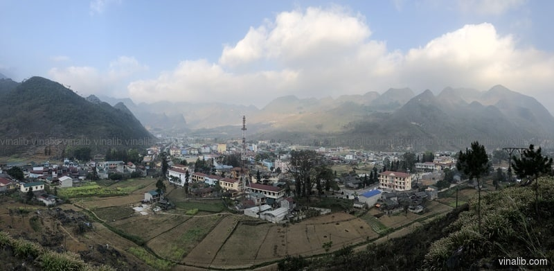 Meo Vac Town, Ha Giang Province - Vinalib Stock Pictures