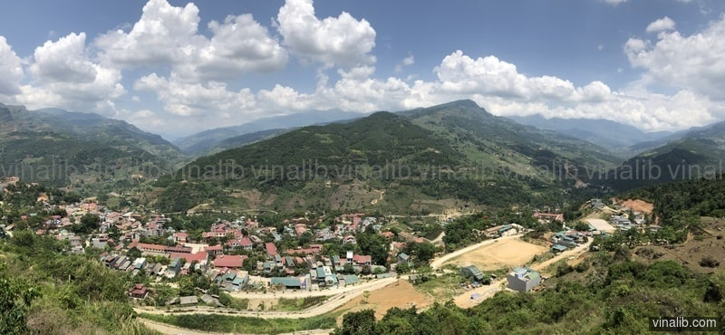 Coc Pai town, Xin Man district, Ha Giang province, Vietnam - Vinalib Stock Pictures