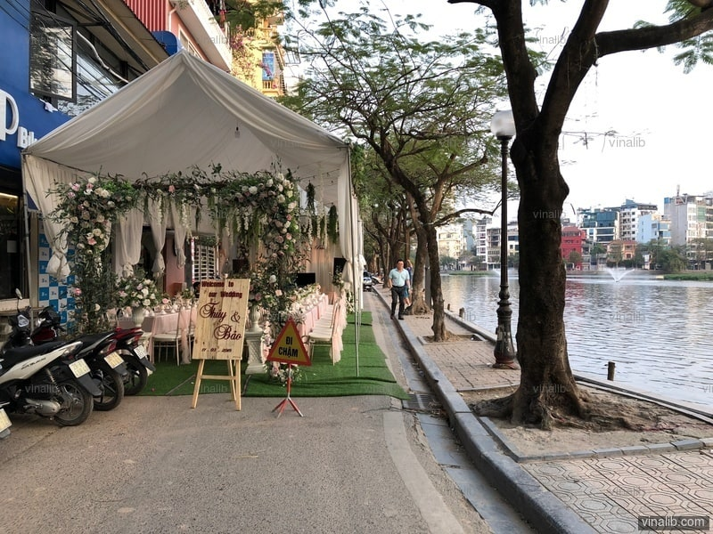 A wedding in Hanoi - Vinalib Stock Pictures