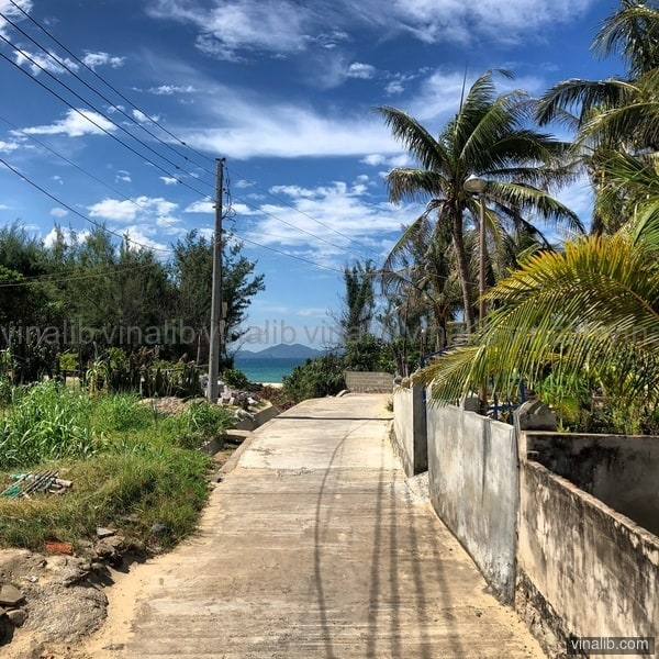 One of those roads to the beach - Vinalib Stock Pictures