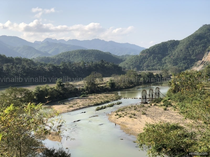 Bamboo Water Wheels, Thanh Hoa province - Vinalib Stock Pictures